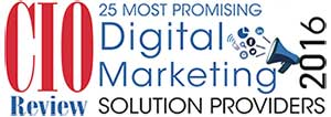 CIO Review 2016 - 25 Most Promising Digital Marketing Solution Providers